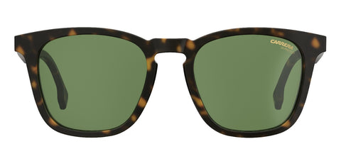 Carrera - 143 Dark havana Sunglasses / Green Lenses