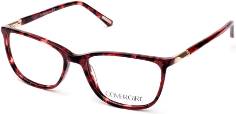 Cover Girl - CG0541 Red Eyeglasses / Demo Lenses