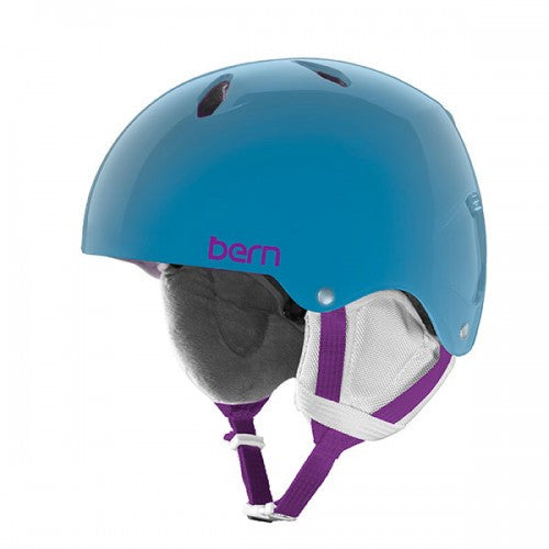 Bern - Diabla Translucent Light Blue Snow Helmet