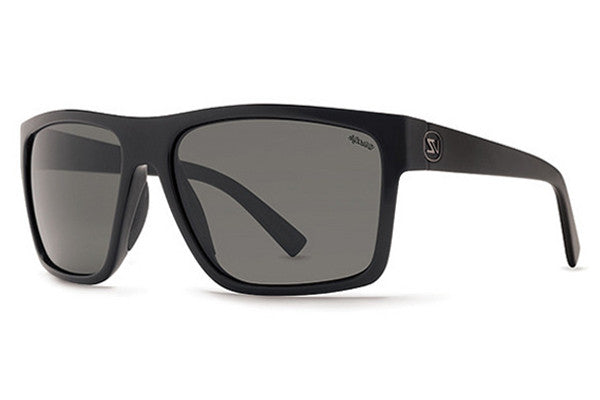 VonZipper - Dipstick Black Gloss PBV Sunglasses, Wildlife Vintage Grey Lenses