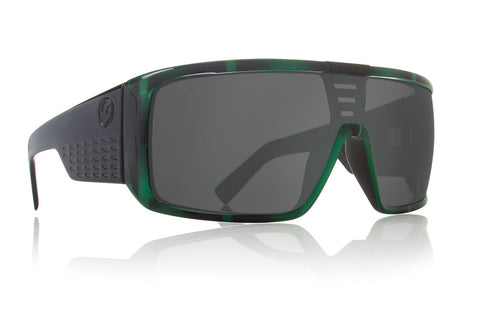 Dragon - Domo Green Stripe / Grey Sunglasses