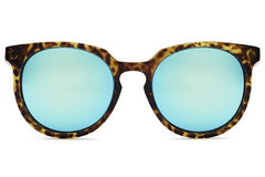 Quay Don't Change Tortoise / Blue Sunglasses