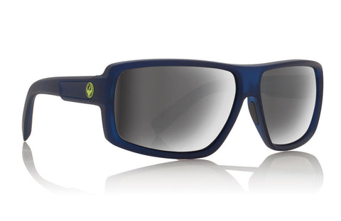 Dragon - Double Dos Matte Crystal Deep Navy H2O / Silver Ion Performance Polar Sunglasses
