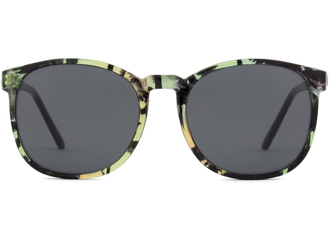 Komono - Urkel  Palms Sunglasses / Black Lenses