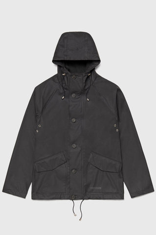 Stutterheim - Stenhamra Lightweight Black Raincoat