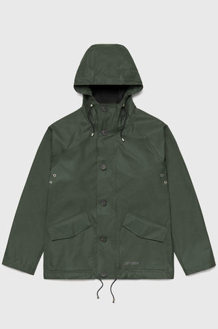 Stutterheim - Stenhamra Lightweight Green Raincoat