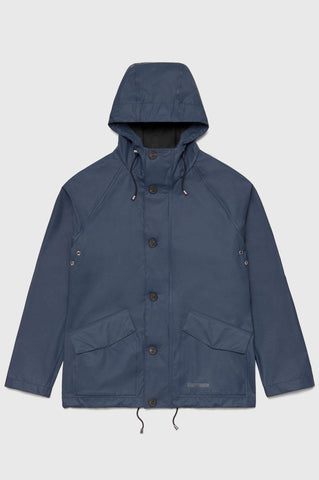 Stutterheim - Stenhamra Lightweight Navy Raincoat