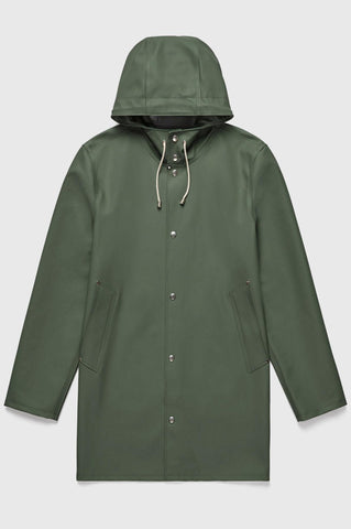 Stutterheim - Mosebacke Green Raincoat