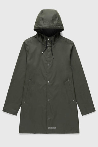 Stutterheim - Stockholm Lightweight Green Raincoat