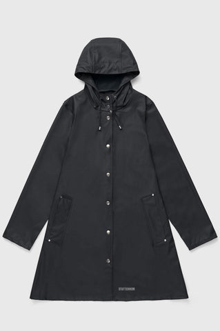 Stutterheim - Mosebacke Lightweight Black Raincoat