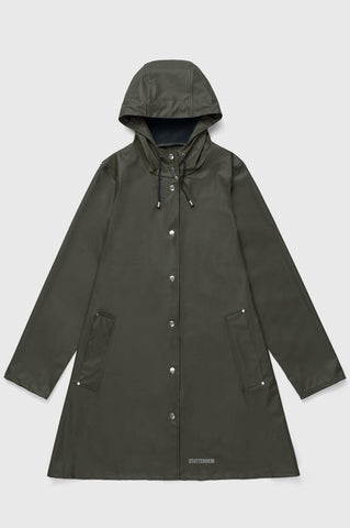 Stutterheim - Mosebacke Lightweight Green Raincoat