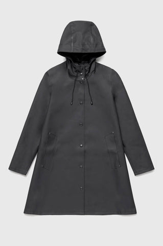 Stutterheim - Mosebacke Black Raincoat