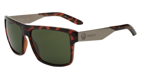Dragon - Space 59mm Dark Tortoise Sunglasses / G15 Lenses