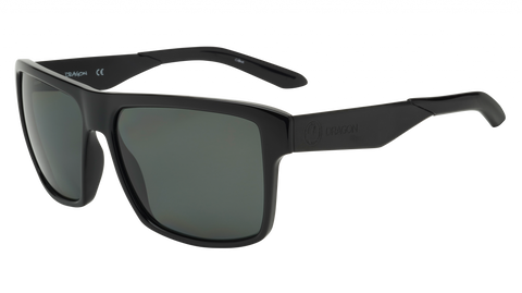 Dragon - Space 59mm Black Sunglasses / Smoke Polarized Lenses