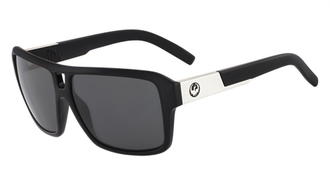 Dragon - The Jam 60mm Jet Black Sunglasses / Smoke Lenses