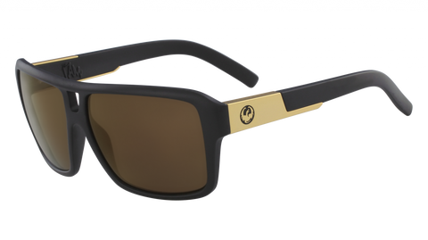 Dragon - The Jam 60mm Matte Black Sunglasses / Copper Ion Lenses