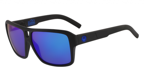 Dragon - The Jam H2O 60mm Matte Black Sunglasses / Blue Ion Polarized Lenses