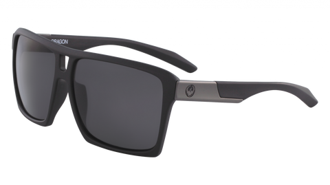 Dragon - The Verse 60mm Matte Black Sunglasses / Smoke Lenses