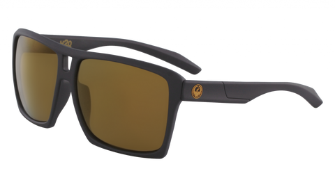 Dragon - The Verse H2O 60mm Matte Black Sunglasses / Copper Polarized Lenses