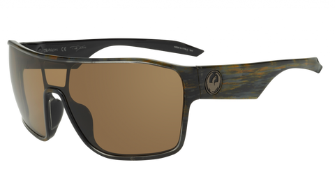 Dragon - Tolm 47mm Rob Machado Resin Sunglasses / Brown Lenses