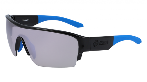 Dragon - Tracer X 61mm Black Sunglasses / Silver Ion Lenses