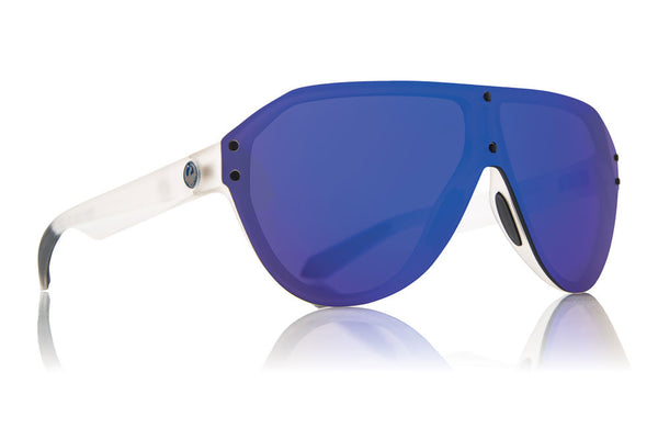 Dragon - DS1 Matte Clear / Blue Ion Sunglasses