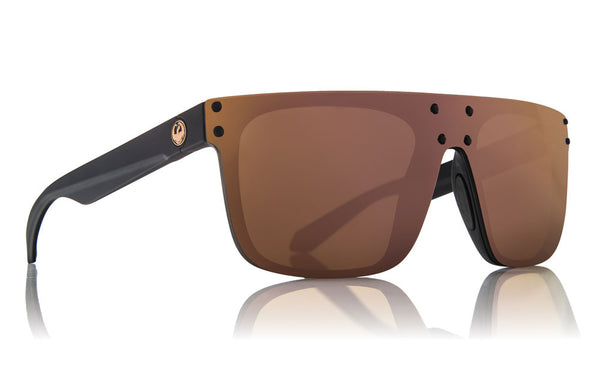 Dragon - DS2 Matte Black / Rose Gold Sunglasses