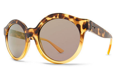 Dot Dash - Hush Leopard Tortoise LTP Sunglasses, Pink Chrome Lenses