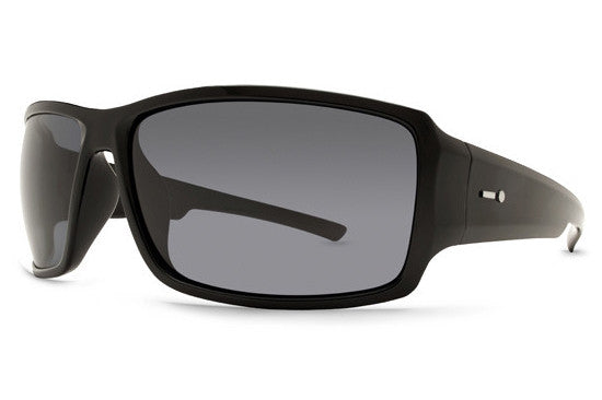 Dot Dash - Exxellerator Black BKG Sunglasses, Grey Lenses
