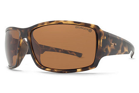 Dot Dash - Exxellerator Tortoise TPP Sunglasses, Bronze Polarized Lenses