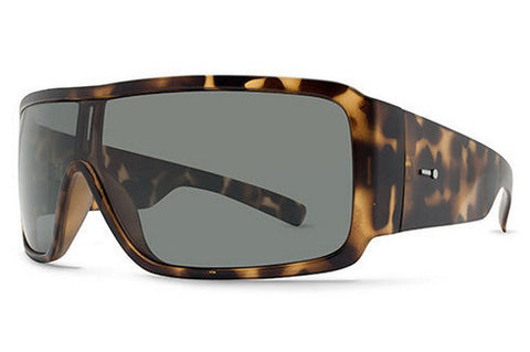 Dot Dash - Chalube Tortoise Satin TOR Sunglasses, Retro Grey Lenses