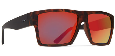 Dot Dash - Lads Crimson Black Sunglasses / Red Chrome Lenses