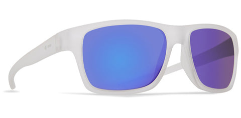 Dot Dash - Futureman Frosted Satin Sunglasses / Blue Charm Lenses