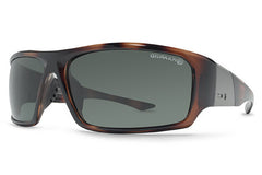Dot Dash - Destro Tortoise TPP Sunglasses, Bronze Poly Polarized Lenses