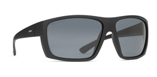 Dot Dash - Shizz Black Satin Sunglasses / Grey Polarized Lenses