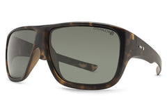 Dot Dash - Aperture Tortoise TPP Sunglasses, Grey Polarized Lenses