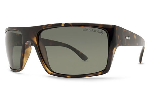 Dot Dash - Portal Tortoise TPP Sunglasses, Grey Polarized Lenses
