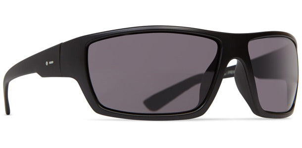 Dot Dash - Private Eyes Black Satin Sunglasses / Grey Lenses