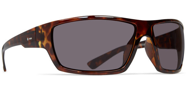 Dot Dash - Private Eyes Tort Sunglasses / Vintage Grey Polarized Lenses