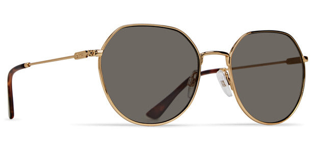 Dot Dash - Jitters Gold Sunglasses / Vintage Grey Lenses