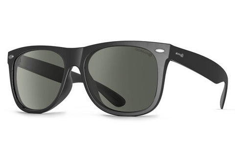 Dot Dash - Kerfuffle Black BPP Sunglasses, Grey Polarized Lenses