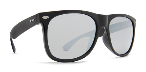 df7a43ffd5 Dot Dash - Kerfuffle Black Gloss Sunglasses   Grey Chrome Lenses