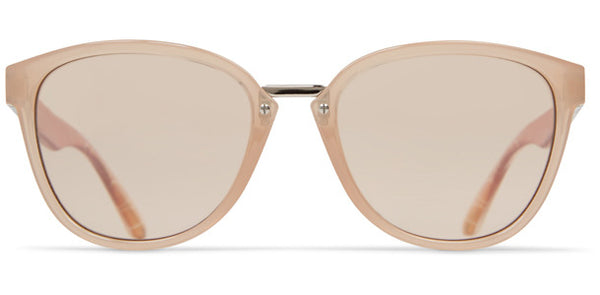 Dot Dash - Summerland Nude Sunglasses / Amber Lenses