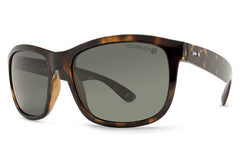 Dot Dash - Poseur Tortoise TPP Sunglasses, Grey Polarized Lenses