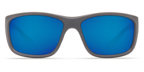 Costa - Tasman Sea Matte Gray  Sunglasses / Blue Polarized Glass Lenses
