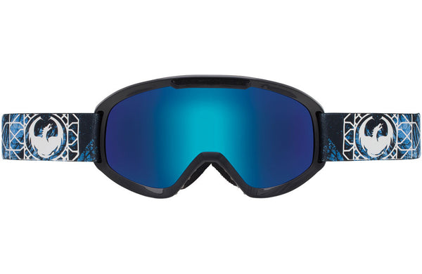 Dragon - DX2 Dense / Blue Steel + Yellow Red Ion Goggles