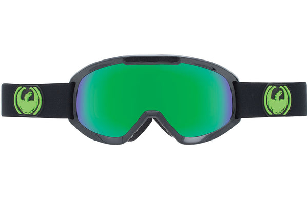 Dragon - DX2 Jet / Green Ion + Yellow Blue Ion Goggles
