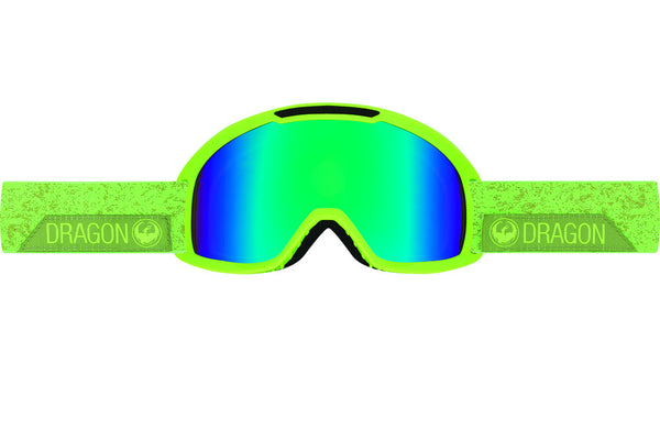 Dragon - DX2 Stone Green / Green Ion + Amber Goggles