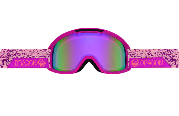 Dragon - DX2 Stone Pink / Pink Ion + Amber Goggles