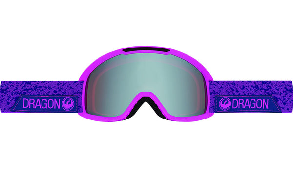Dragon - DX2 Stone Violet / Ionized + Amber Goggles